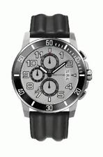 Marc O'Polo Men's Chronograph 4209802 Analogue Chronograph Leather Black
