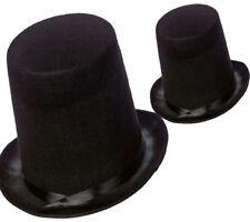 Nero Cappello a Cilindro Bambini Mago Costume Direttore di Pista Vittoriano 324307905f58
