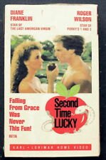 SECOND TIME LUCKY ~ CULT 1980's BETA ~ Diane Franklin ~Erotic Comedy