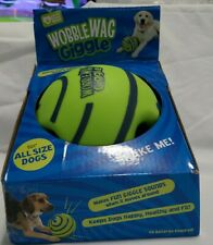 Wobble Wag Giggle Ball Interactive Dog Toy Fun Giggle Sounds