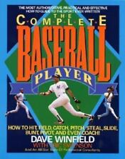 The Complete Baseball Player by Dave Winfield PB 1990 How to Hit, Field, Catch..
