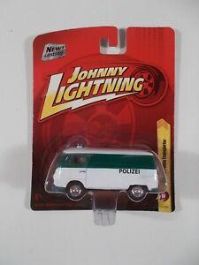 Johnny Lightning 1/64 1965 VW Police Transporter