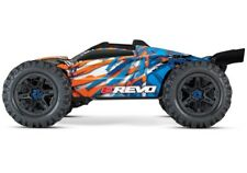 Traxxas E-Revo VXL 4x4 el. Monster Truck BL bleu/orange v.2018 tqi2.4ghz RTR 1:10