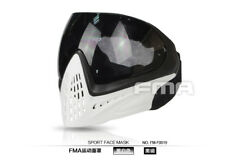 FMA Tactical Airsoft F1 Anti-fog Goggle Paintball Full Face Lens Protective Mask