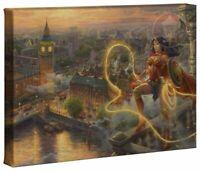 Thomas Kinkade Studios Wonder Woman Lasso of Truth 10 x 14 Wrap Canvas
