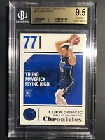 2018-19 Luka Doncic Rookie Panini Chronicles #71 BGS 9.5 Gem Mint