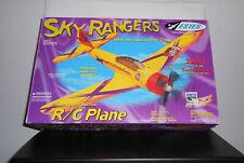 Estes Sky Rangers R/C Flying Plane 300 Ft. Radio Range In Original Box (Retired)