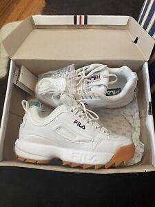 fila disruptor 2 White Chunky Sneakers Worn Once ! Ladies 7
