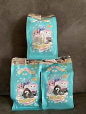 """New listing 3 Packs Squishmallows Kellytoy 2021 Mystery Squad 5"""" Scented  Series 2"""
