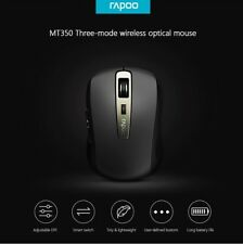 Rapoo Wireless Optical Mouse Bluetooth Mini Small Portable Mice For Laptop MT350