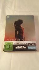 Wonder Woman 4K UHD HDR Blu Ray Steelbook