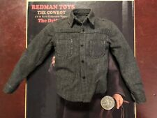 Redman Cow-Boy The Drifter Clint Eastwood grey shirt loose 1/6th scale