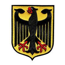 VEGASBEE® GERMAN EAGLE EMBROIDERED PATCH BUNDESADLER GERMAN HERITAGE IRON-ON