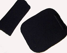 Baby BLACK Car Seat Pram Chair Harness Belt Cover Pads NEW Travel Aid