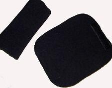 Bebé Negro Cinturón Arnés Cochecito Silla de asiento de coche cubierta almohadillas nuevas ayudas de viaje