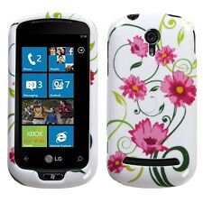 Lovely Flower Hard Case Snap on Cover LG Quantum C900
