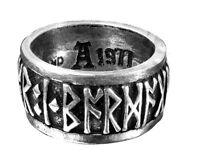 GENUINE Alchemy Gothic Ring - Runeband | Men's Norse Jewellery