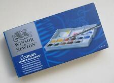 Winsor & Newton Cotman Watercolour Paint Sketchers Pocket Box12 Half Pans