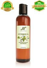 Abyssinian Oil 4 oz Organic Natural Carrier Cold Pressed Fresh 100% Pure Velona