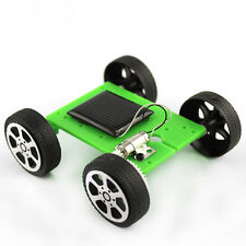 Mini Solar Powered Motor Toy DIY Kit Car Educational Gadget Hobby Robot For Kids