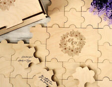 Wedding Guest Book Puzzle 20-236 Pieces Alternative Guestbook Sign Wedding Gift