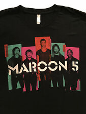 MAROON 5 North American Concert Tour 2013 Black T-Shirt Sz.XXL