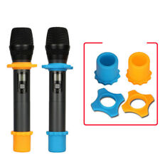 Anti-Rolling Microphone Protection Ring Wireless Slip Holder Protective Cover UK