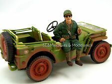 FIGURINE SOLDATS PASSAGER USA  SOLDIER III 1/18 SEP16DC