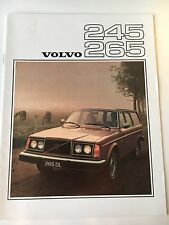 Original 1976 Volvo 245 265 Wagons Brochure/Catalog