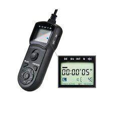 JJC Intervalometer Timer Remote Control Shutter Release for Canon EOS Rebel T...