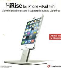 Genuine Twelve South Silver Hi Rise Stand for iphone 6s 6 5 & Ipad Mini