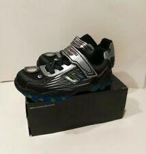 Skechers Kids Street Lightz Hydrostatic Young Boys Sneakers Black Silver Sz 2.5