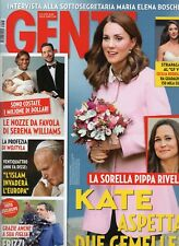 Gente 2017 48.Kate Middleton-Pippa,Michelle Hunziker,Anna Falchi,Serena Williams