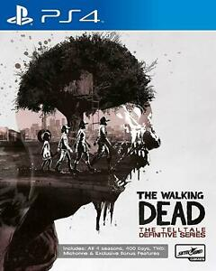 The Walking Dead The Telltale Definitive Series Playstation 4 PS4 NEW GIFT IDEA