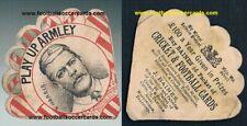 1886 William Harris Yorkshire CCC Armley CC cricketer Baines cricket trade card