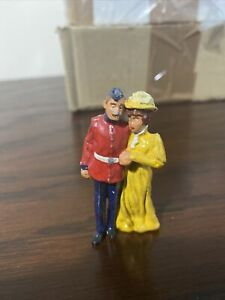 Sarum Soldiers Military Courting Couple Painted 54mm