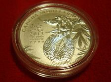 2013 Canada Year of the Snake 1/4 oz Fine 99.99 % Silver Coin As Issued