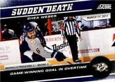 2011-12 Score Sudden Death John Bucyk #10
