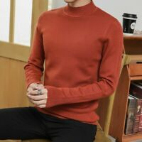 Winter Mens Cashmere Sweater Pullover Knitwear Jumper Crew