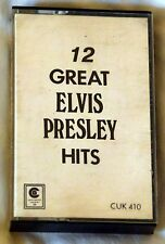 Cassette Audio Elvis Presley - 12 great hits - K7