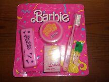 VINTAGE MATTEL  1989  BARBIE  TOOTHBRUSH, SOAP, CUP ~NEW, SEALED