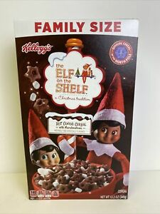 Kellogg's Family Size The Elf On The Shelf Hot Cocoa -Official North Pole Cereal
