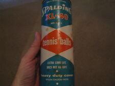 Vintage Spalding Xl-40 Tennis Balls