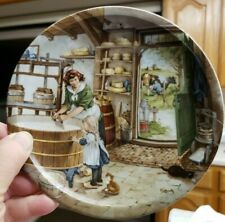 Royal Schwabap Plate 1984 Ter Steege BV.Holland Country Farm Washing Clothes