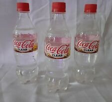 Crystal Pepsi Soda fresh Japan Limited Edition bottle rare CLEAR CocaCola Coke