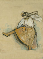 The Russian Dancer, 1895, EDGAR DEGAS French Impressionism Ballet Poster