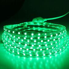 SMD3014 LUZ CINTA TIRA FLEXIBLE LED AC220V 60 LED/M IMPERMEABLE - VERDE