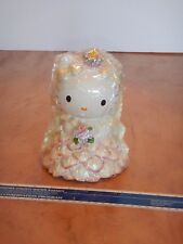ORIGINAL  SANRIO  HELLO KITTY WEDDING BRIDE BANK, NEW OLD STOCK