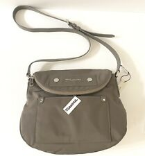 Marc Jacobs Preppy LARGE Nylon Natasha Shoulder/Crossbody Bag Gray M0014525