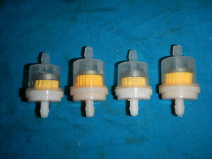 FUEL GAS FILTER PETROL FILTER MAGNET 1/4 #4 Yamaha 50 70 80 100 250 350 450 500